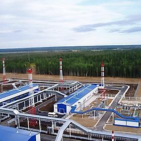 Строительство НПС трубопровода Восточная Сибирь - Тихий океан